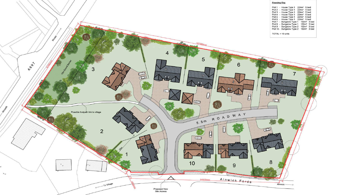 Longframlington Planning Permission Granted